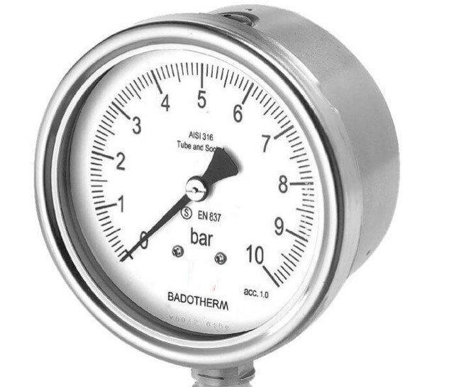 Đồng hồ đo áp suất là một trong những thiết bị không thể thiếu trong công nghiệp chế tạo
