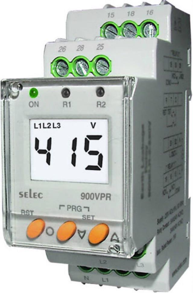 Rơ le điện áp được ứng dụng trong các nhà máy để ngăn mạch điện sụt áp